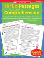 Hi-Lo Passages to Build Comprehension : Grades 5-6: 25 High-Interest/Low Readability Fiction and Nonfiction Passages to Help Struggling Readers Build C - Michael Priestley
