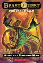 Sting the Scorpion Man : The Dark Realm USA Series : Book 18 - Adam Blade