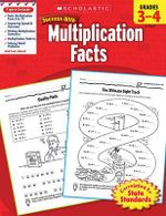 Scholastic Success with Multiplication Facts, Grades 3-4 - William Earl