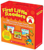 First Little Readers Guided Reading Level A : 25 Irresistible Books That Are Just the Right Level for Beginning Readers - Deborah Schecter