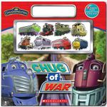 Chug-Of-War! : 8 Magnets Plus Magnetic Book And Play Area - Scholastic, Inc