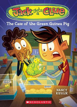 Jack Gets a Clue #3 : The Case of the Green Guinea Pig - Nancy Krulik