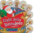 Eight Jolly Reindeer - Ilanit Oliver