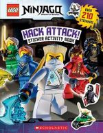 Lego Ninjago : Hack Attack! Sticker Activity Book - Inc Scholastic