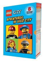 Lego City : Adventures in Lego City (Reader Boxed Set) - Scholastic