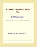 Standard Household Effect Co. (Webster's Japanese Thesaurus Edition) - Inc. ICON Group International