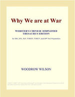 Why We are at War (Webster's Chinese Traditional Thesaurus Edition) - Inc. ICON Group International