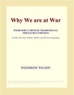 Why We are at War (Webster's Japanese Thesaurus Edition) - Inc. ICON Group International
