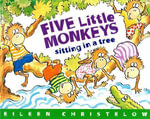 En un Arbol Estan los Cinco Monitos / Five Little Monkeys Sitting in a Tree - Eileen Christelow
