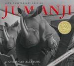 Jumanji  - includes Audio CD read by Robin Williams : 30th Anniversary Edition - Chris Van Allsburg