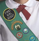 First Girl Scout : The Life of Juliette Gordon Low - Ginger Wadsworth