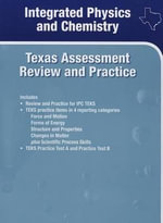 Holt McDougal Supplemental Science Online Texas : Assessment Review and Practice Integrated Physics and Chemistry