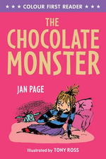 The Chocolate Monster : Colour First Reader - Jan Page