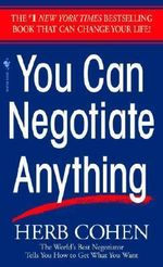 You Can Negotiate Anything - Cohen