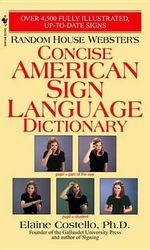 Rhw Concise Asl Dictionary - Elaine Phd Costello