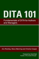 Dita 101 - Ann Rockley