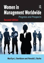 Women in Management Worldwide : Progress and Prospects - Marilyn J. Davidson