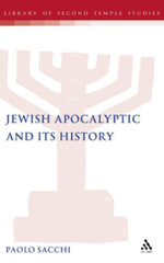 Jewish Apocalyptic and its History - Paolo Sacchi