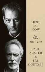 Here and Now : Eudora Welty's Gardening Letters, 1940-1949 - Paul Auster