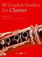 80 Graded Studies for Clarinet : Bk. 1 - John Davies