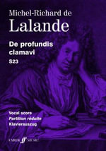 De Profundis Clamavi : (Vocal Score) - Michel Richard de Lalande