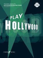 Play Hollywood : Alto Saxophone - Richard Harris