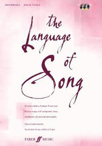The Language of Song : Advanced (high Voice)