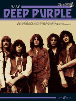 Deep Purple Authentic Playalong Bass : Bass Guitar Songbook - Deep Purple