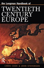 The Longman Companion to Modern Europe : Longman Companions to History (Paperback) - Chris Cook