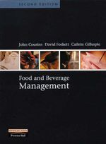 Food and Beverage Management - John A. Cousins
