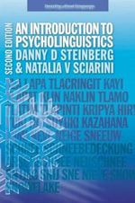 An Introduction to Psycholinguistics : Learning about Language - Danny D. Steinberg