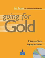 Going for Gold Intermediate Language Maximiser No Key Pack - Sally Burgess