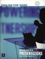 English for Work : Business Presentations Book/CD Pack - Anne Freitag-Lawrence