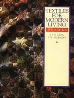 Textiles for Modern Living : Middle - J. Gohl