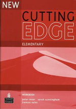 New Cutting Edge Elementary Workbook No Key - Sarah Cunningham