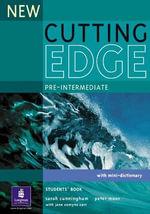 New Cutting Edge Pre-Intermediate Students' Book : Cutting Edge - Sarah Cunningham