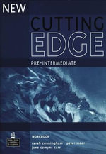 New Cutting Edge Pre-Intermediate Workbook No Key - Sarah Cunningham