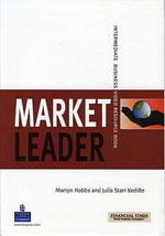 Market Leader Intermediate Video Resource Book : The Whole Picture - Martyn Hobbs