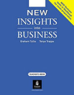 New Insights into Business : Teacher's Book - Graham Tullis