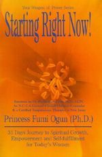 Starting Right Now! - Princess Fumi Ogun