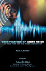 Observations of White Noise - Marc M. Harrold