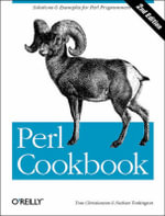 Perl Cookbook : COOKBOOK - Tom Christiansen