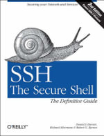 SSH, the Secure Shell : The Definitive Guide - Daniel Barrett