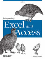 Integrating Excel and Access : Combining Applications to Solve Business Problems - Michael Schmalz