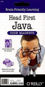Head First Java Code Magnet Kit : Brain-friendly Learning - O'reilly Media