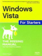 Windows Vista for Starters : The Missing Manual - David Pogue
