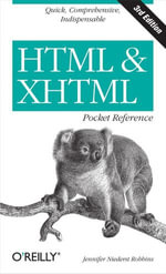 HTML and XHTML Pocket Reference - Jennifer Niederst Robbins