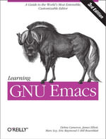 Learning GNU Emacs - Debra Cameron