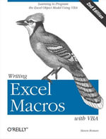Writing Excel Macros with VBA - Phd Steven Roman