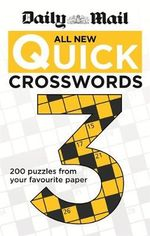 Daily Mail : All New Quick Crosswords 3 - Daily Mail